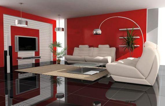 Awesome Interieur Zwart Wit Rood Photos - Huis & Interieur Ideeën ...
